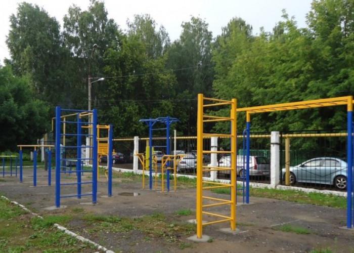 Производство и установка уличных тренажеров