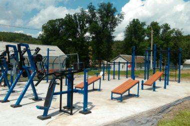 Поставка и монтаж оборудования WORKOUT  и уличных тренажеров 5